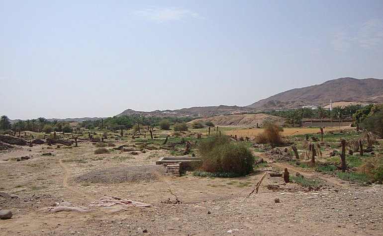 Present day location of the well of Badr