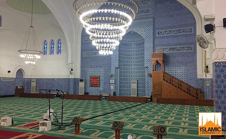 Interior of present day Masjid Areesh