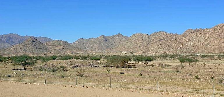 The plain of Irq al-Zabiyyah