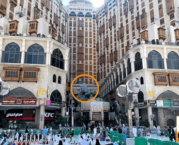 Location of the House of Abu Bakr (رضي الله عنه)