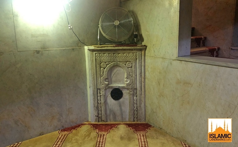 Mehrab installed by the Umayyads