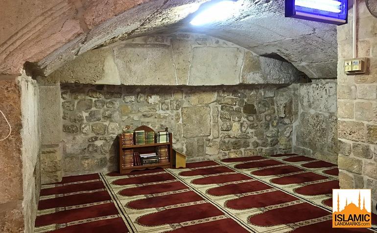 The Barclay Gate - where the original gate into Masjid al-Aqsa existed