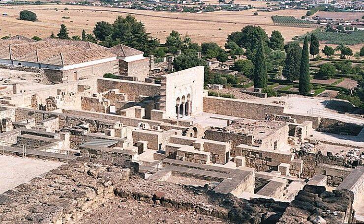 Aerial view of Medina Azahara