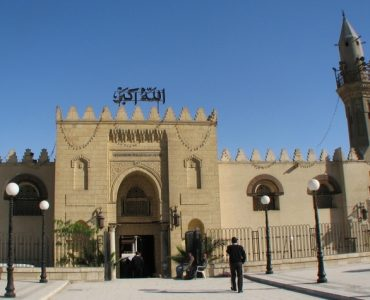 Entrance to the Mosque of Amr ibn al-As
