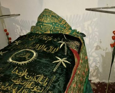 The tomb of Umme Haram (رضي الله عنها)
