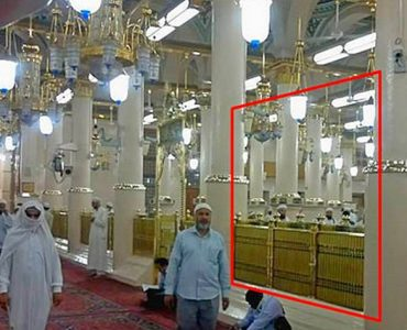 House of Abu Bakr (رضي الله عنه) within Masjid-e-Nabwi