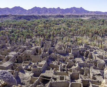 Khaybar deserted houses
