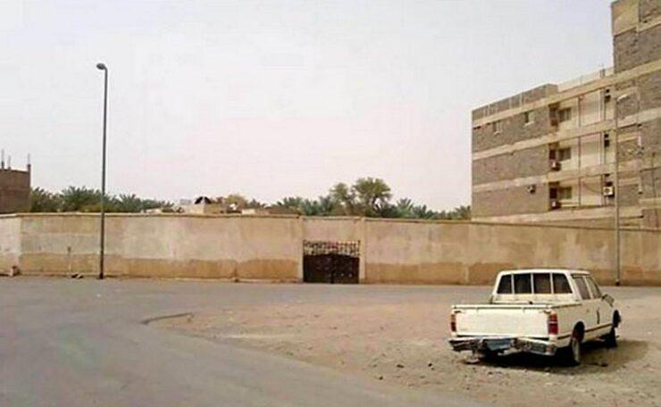 Location of the tribe of Banu Zafar