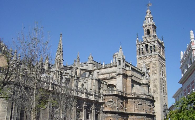 The Giralda bell tower of Seville