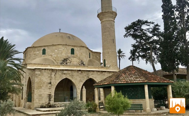 The mosque of Umme Haram (رضي الله عنها)