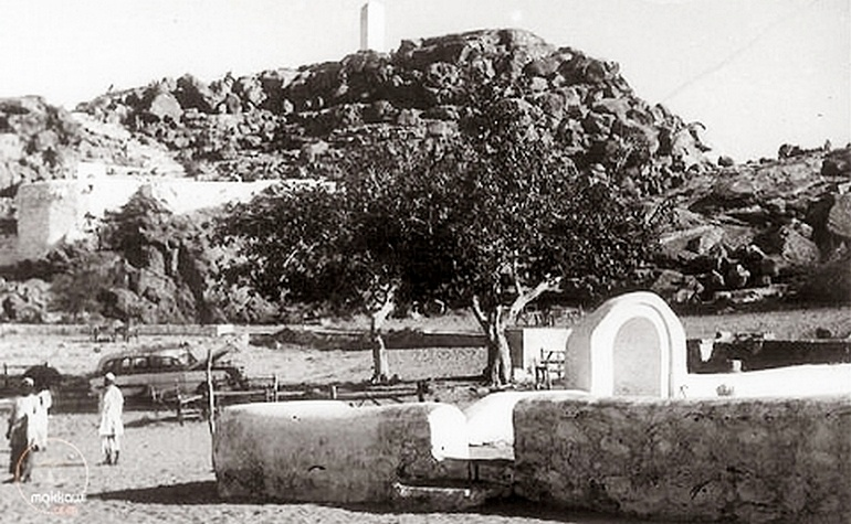 Historic photo of Masjid Sakhrah