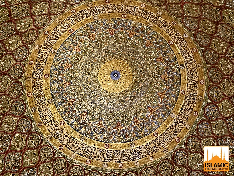 Ayatul-Kursi-in-the-interior-of-the-Dome-of-the-Rock