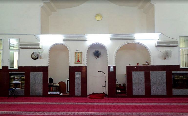 Interior of Masjid Shajarah