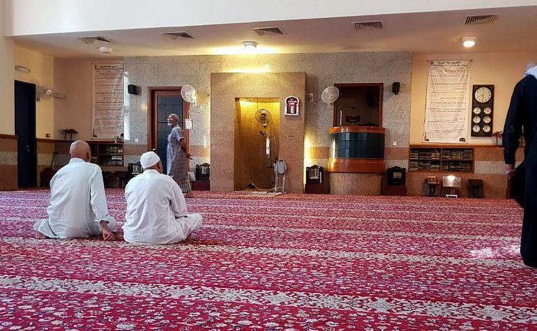 Interior view of Masjid al-Jinn