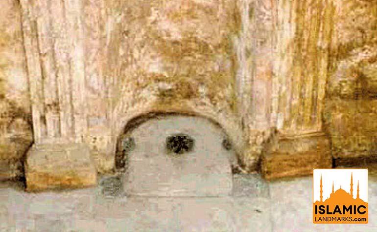 Excavation work on the house of Khadija (رضي الله عنها)