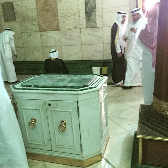Cupboard inside the Kabah