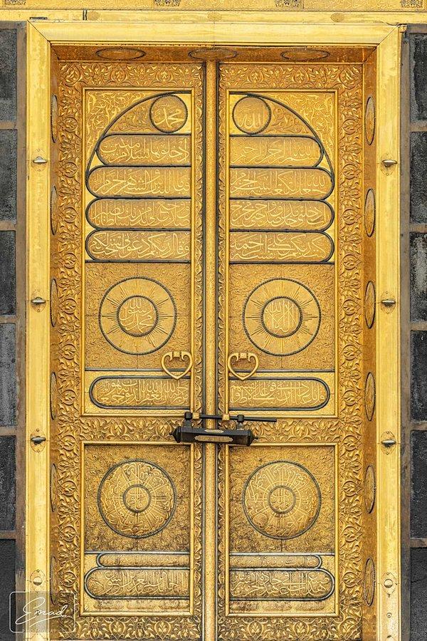 Design of the door of the Ka'bah