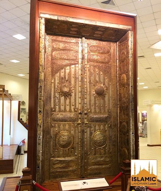 Door of the Ka'bah in the time of King Abdul Aziz