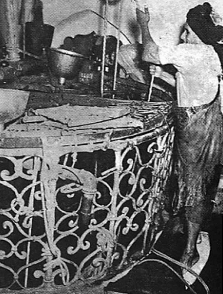 Extraction of Zamzam water prior to 1953