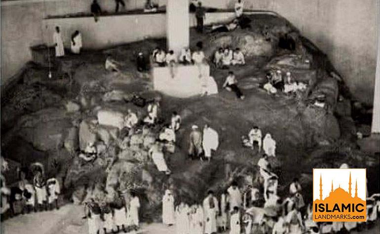 Historic photo of Mount Safa