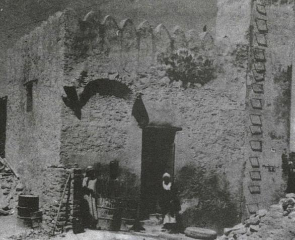 Historic photo of the Well of Tuwa