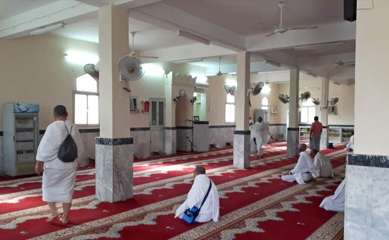 Inside Masjid Shumaysi