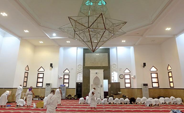 Interior of Masjid Ji'rranah