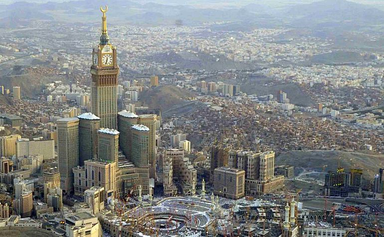 The Makkah Towers complex