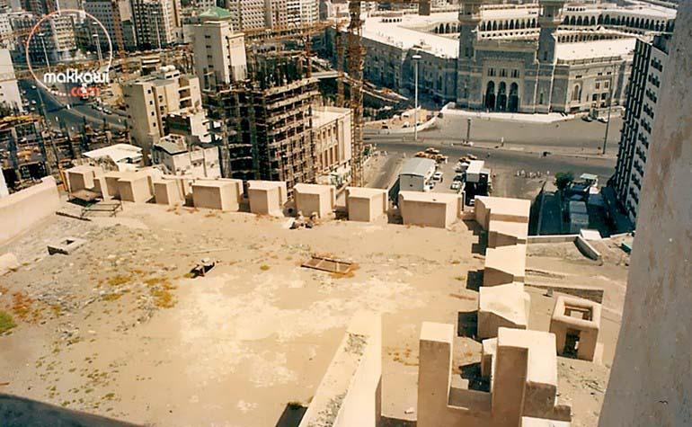 Masjid al-Haram viewed from the Ajyad Fortress
