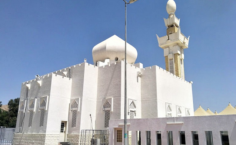Qiblah side of Masjid Ji'rranah