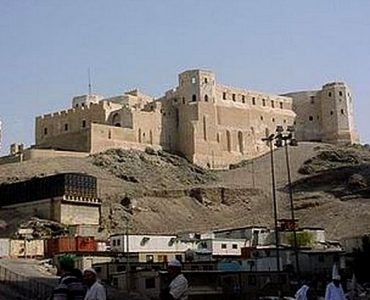 The Ajyad Fortress on top of Bulbul Hill