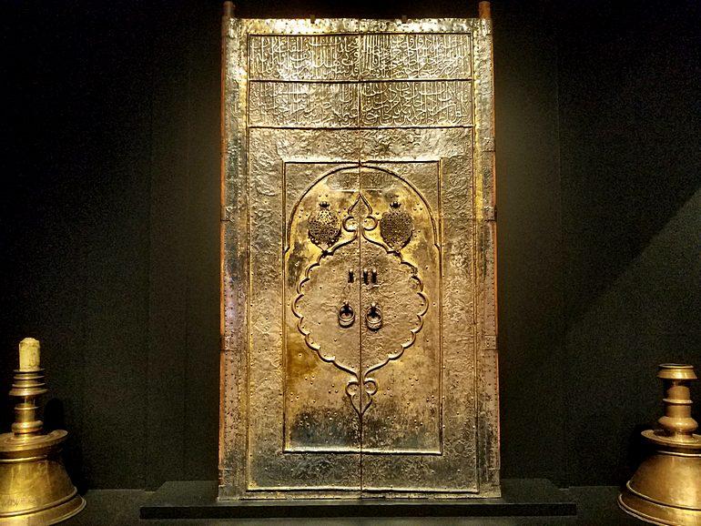 The Kabah door in the era of Sultan Murad IV