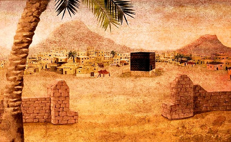 Early Kabah painting