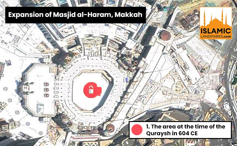Expansion of Masjid al-Haram by the Quraysh