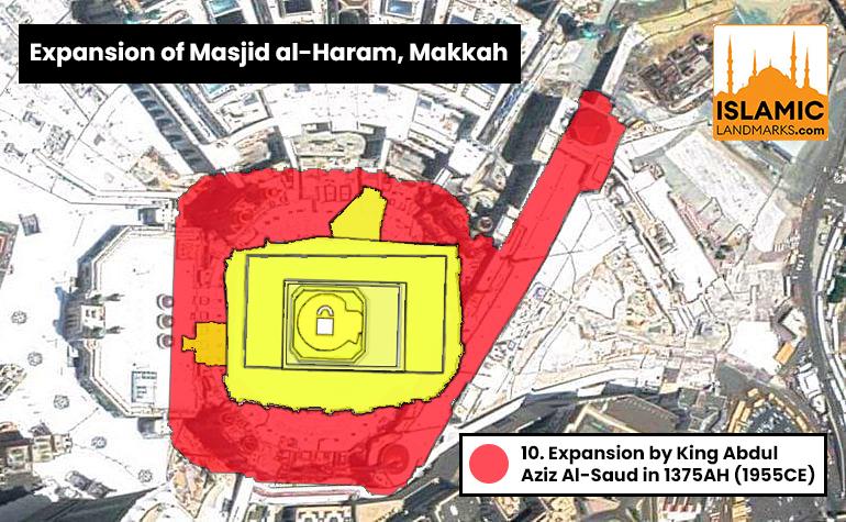 Expansion of Masjid al-Haram by King Saud