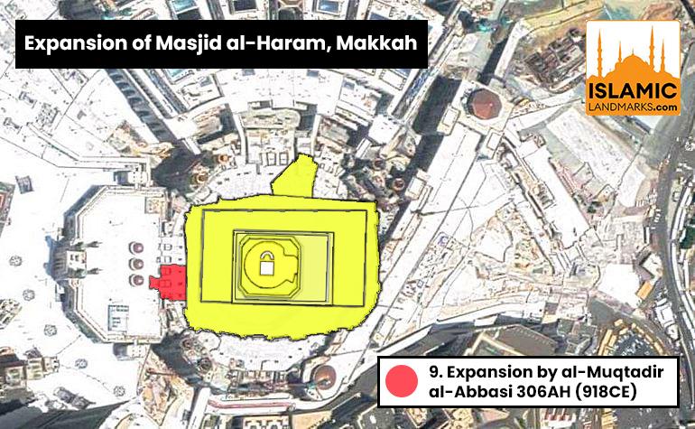 Expansion of Masjid al-Haram by al-Muqtadir al-Abbasi
