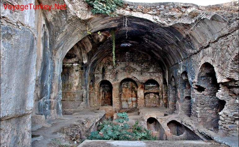 The Cave of the Seven Sleepers in Turkey