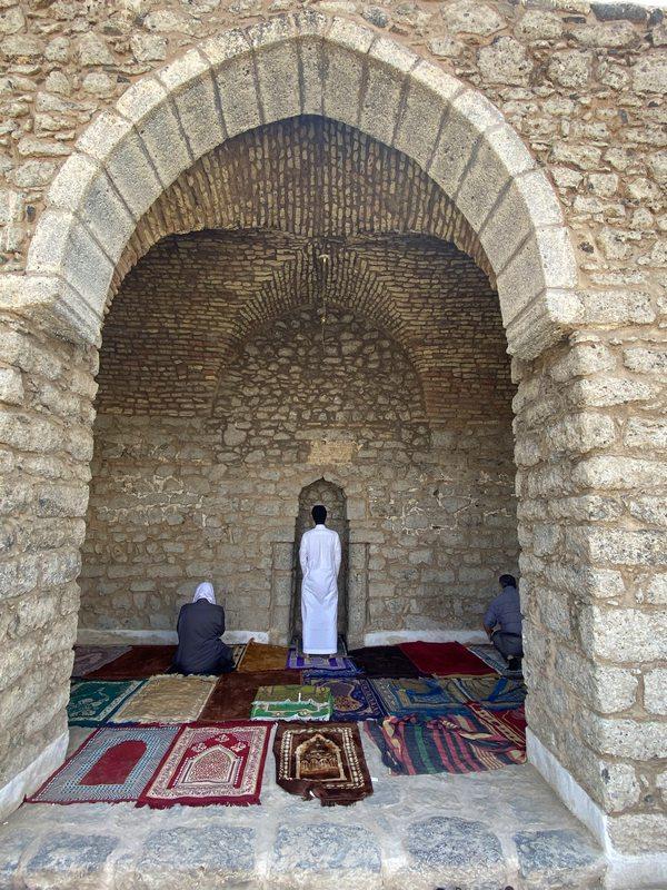 Interior of Masjid al-Fatah