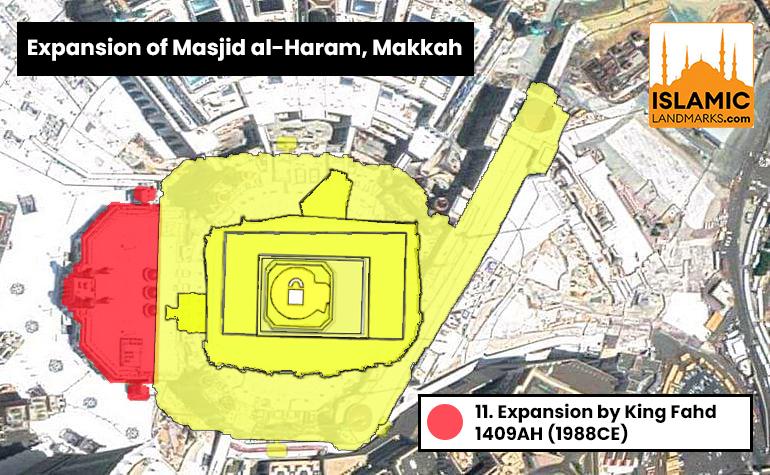 11. Expansion of Masjid al-Haram by King Fahd