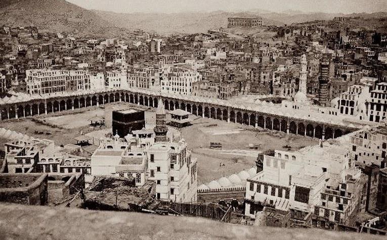 Ottoman photo of Masjid al-Haram