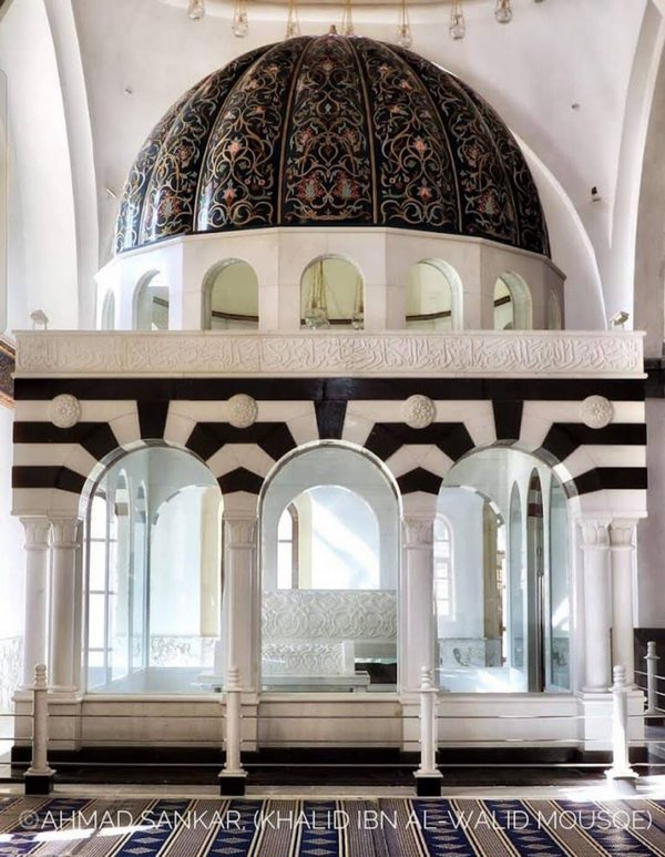 Tomb of Khalid-bin-Waleed (رضي الله عنه) after renovation